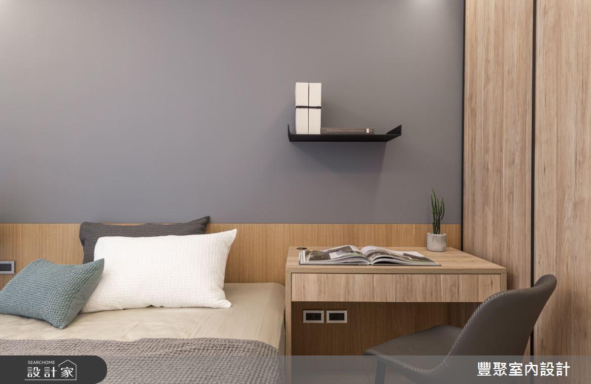 40坪新成屋(5年以下)_現代風臥室案例圖片_豐聚室內設計_豐聚_31之15