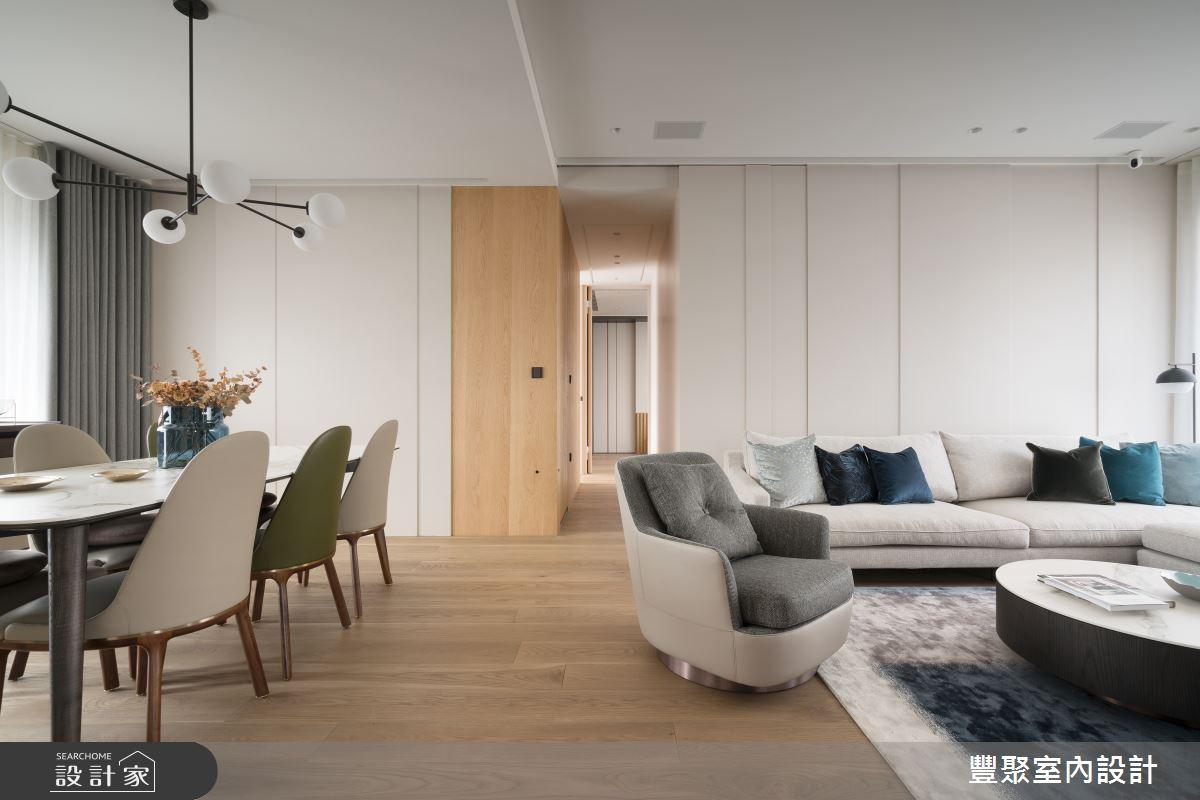 41坪新成屋(5年以下)_北歐風走廊案例圖片_豐聚室內設計_豐聚_32之3