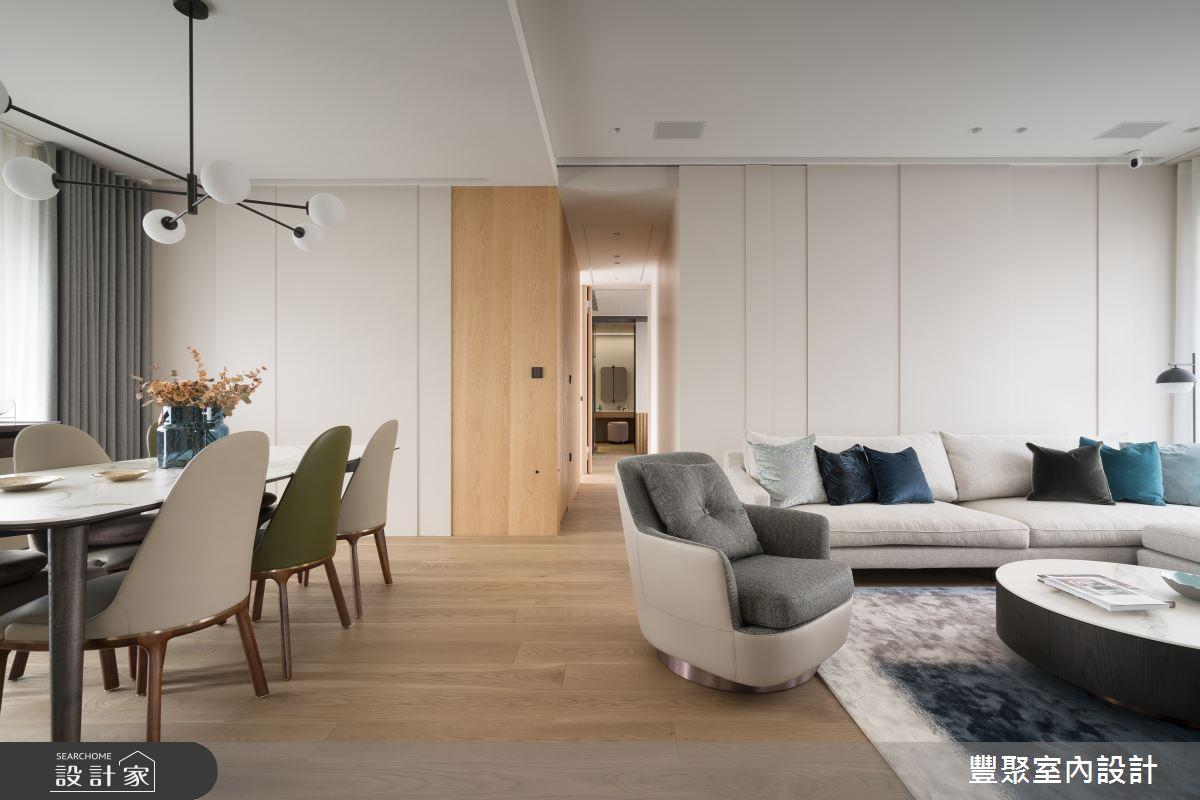 41坪新成屋(5年以下)_北歐風客廳走廊案例圖片_豐聚室內設計_豐聚_32之4