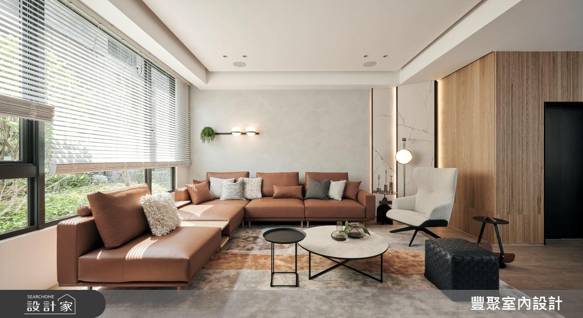 90坪新成屋(5年以下)_現代風案例圖片_豐聚室內設計_豐聚_36之1