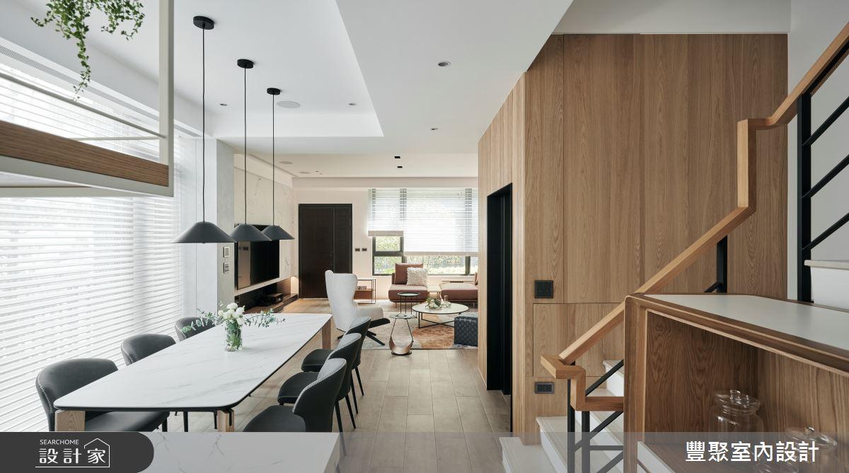 90坪新成屋(5年以下)_現代風案例圖片_豐聚室內設計_豐聚_36之4