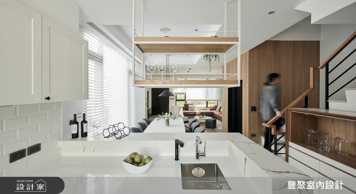 90坪新成屋(5年以下)_現代風案例圖片_豐聚室內設計_豐聚_36之5