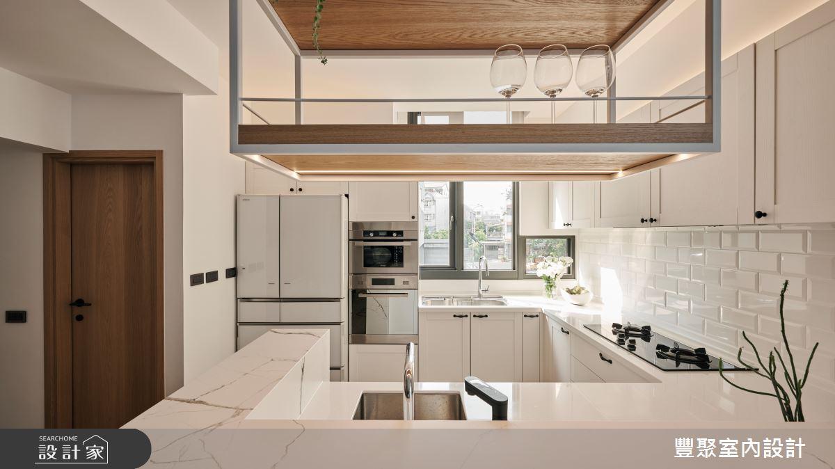 90坪新成屋(5年以下)_現代風案例圖片_豐聚室內設計_豐聚_36之14