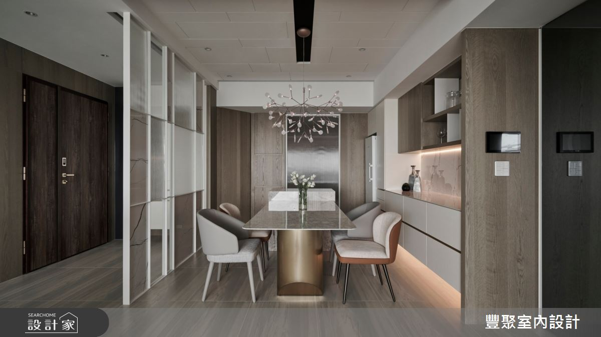 44坪新成屋(5年以下)_現代風案例圖片_豐聚室內設計_豐聚_37之11