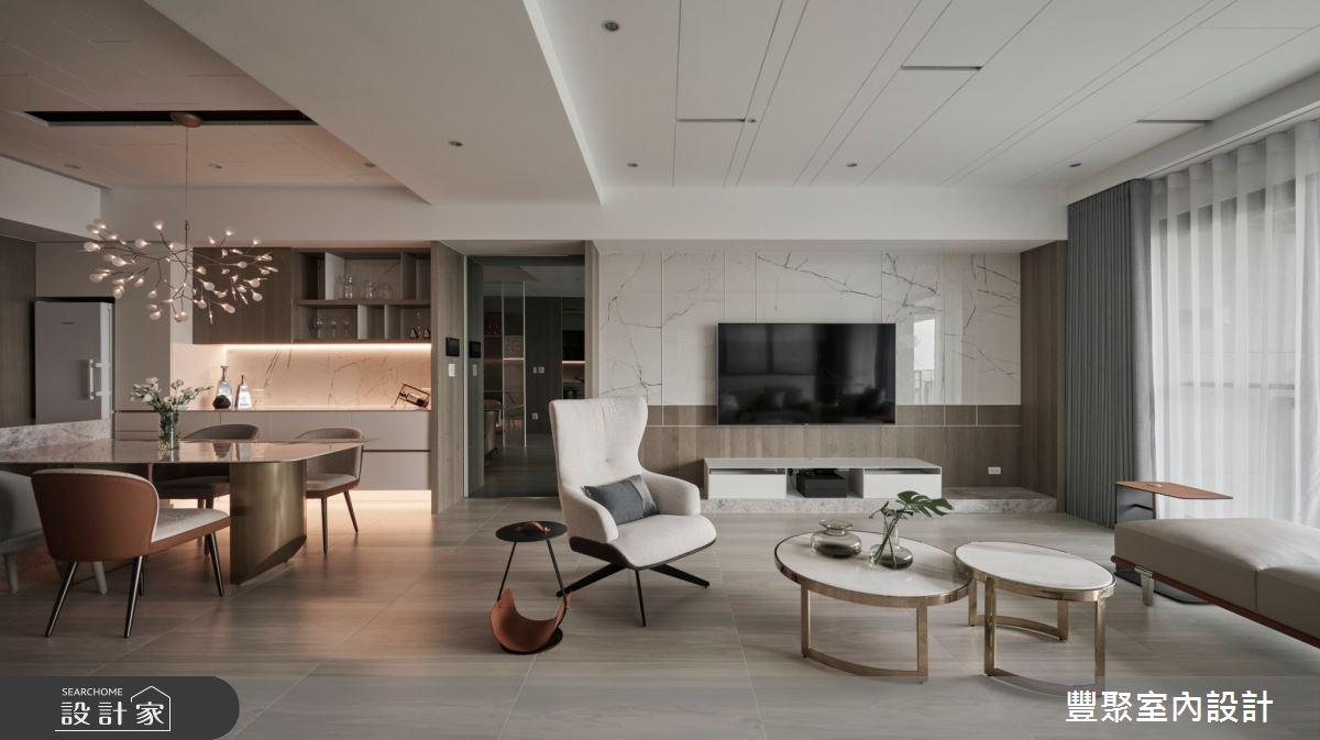 44坪新成屋(5年以下)_現代風案例圖片_豐聚室內設計_豐聚_37之4