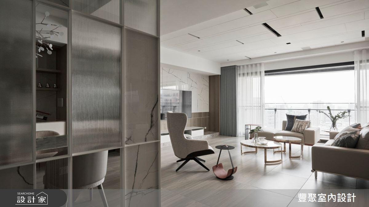 44坪新成屋(5年以下)_現代風案例圖片_豐聚室內設計_豐聚_37之2