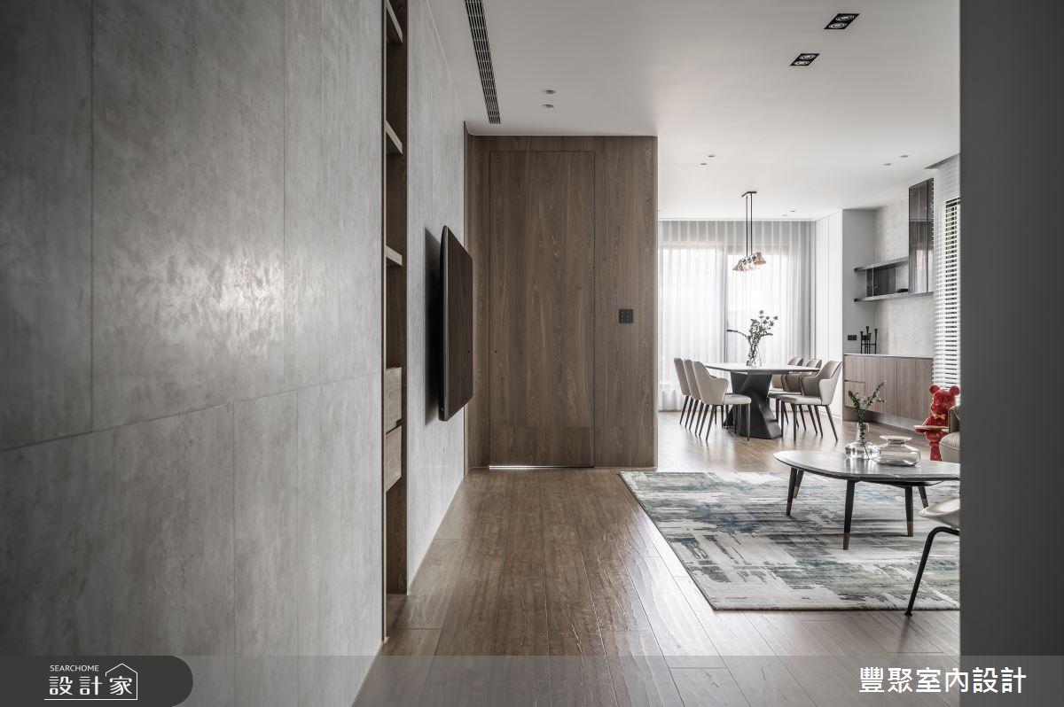 65坪新成屋(5年以下)_現代風案例圖片_豐聚室內設計_豐聚_39之1