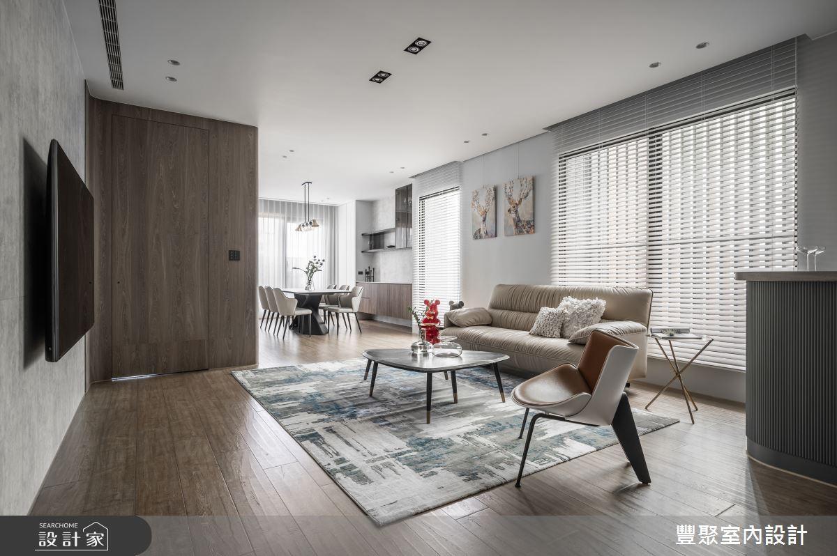 65坪新成屋(5年以下)_現代風案例圖片_豐聚室內設計_豐聚_39之2