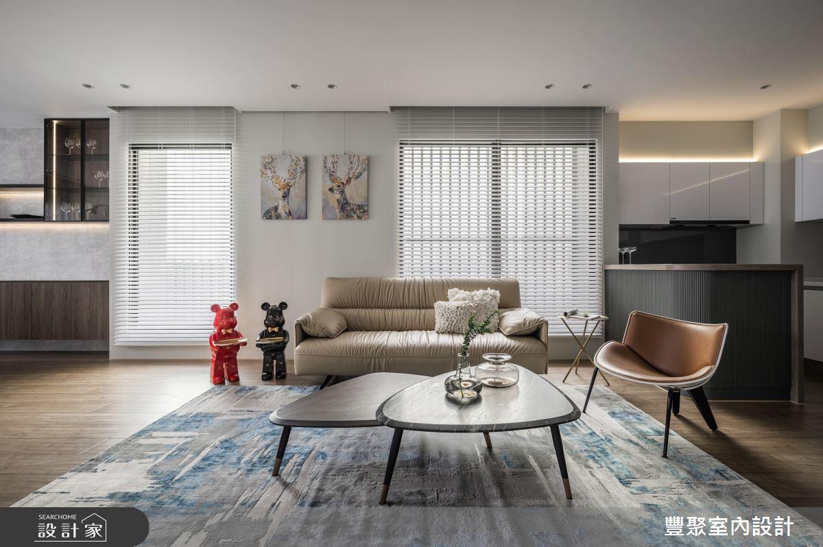 65坪新成屋(5年以下)_現代風案例圖片_豐聚室內設計_豐聚_39之3
