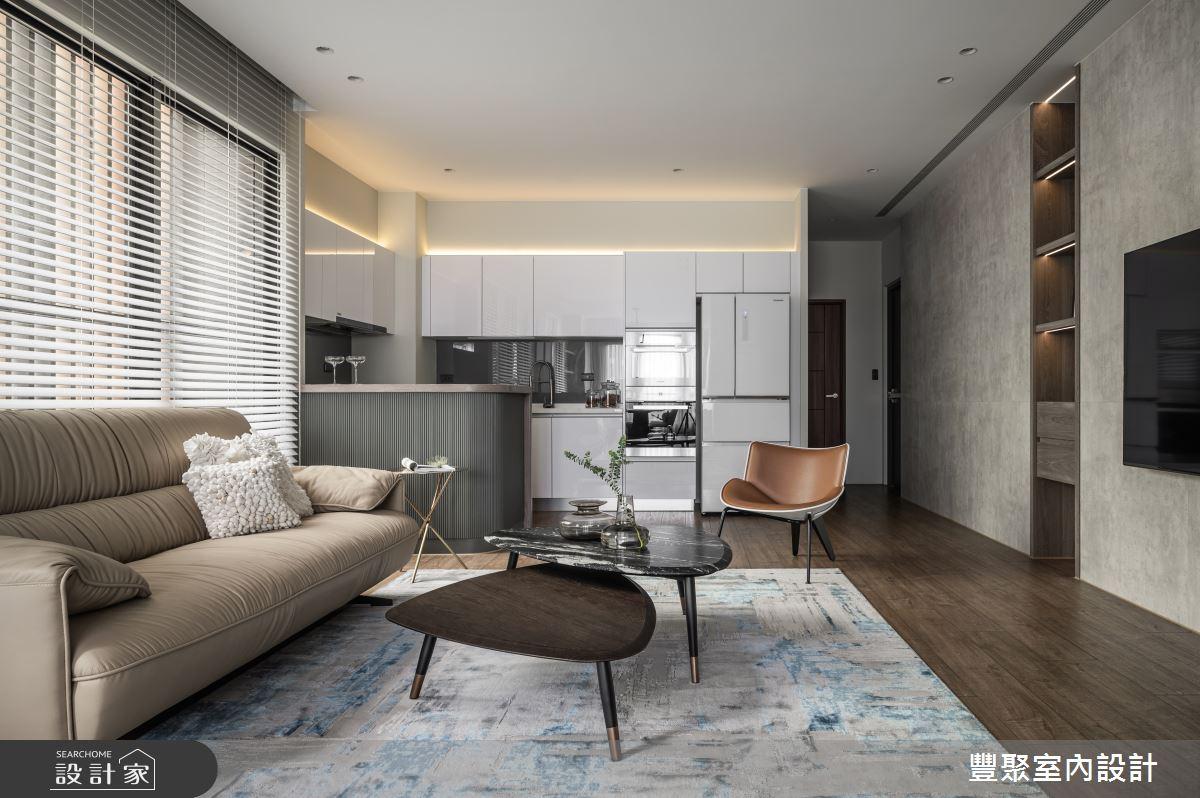 65坪新成屋(5年以下)_現代風案例圖片_豐聚室內設計_豐聚_39之4
