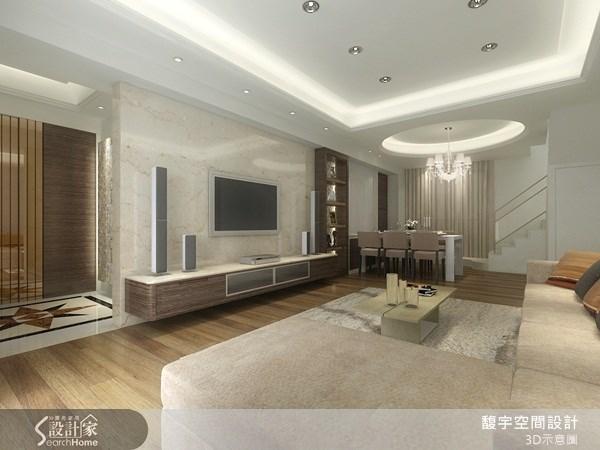 60坪新成屋(5年以下)_奢華風案例圖片_馥宇空間設計_馥宇_06之1
