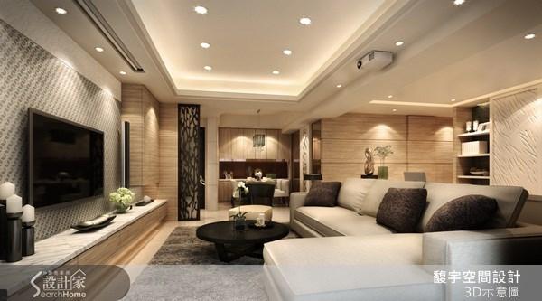 30坪新成屋(5年以下)_混搭風案例圖片_馥宇空間設計_馥宇_10之1