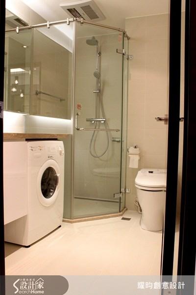 16坪新成屋(5年以下)_現代風浴室案例圖片_耀昀創意設計_耀昀_01之14