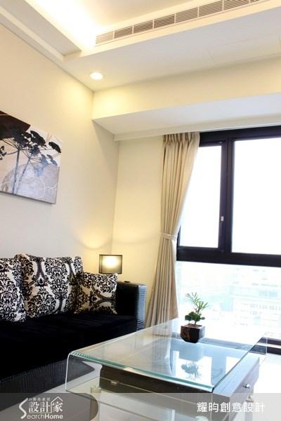 16坪新成屋(5年以下)_現代風客廳案例圖片_耀昀創意設計_耀昀_01之5