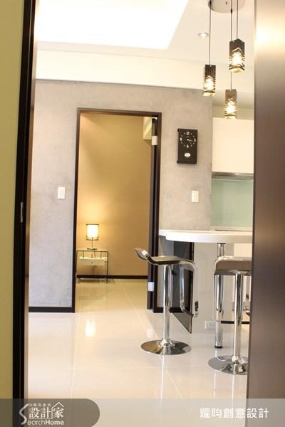16坪新成屋(5年以下)_現代風吧檯案例圖片_耀昀創意設計_耀昀_01之10