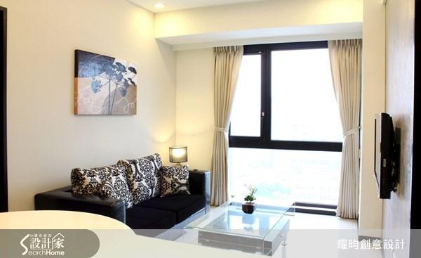 16坪新成屋(5年以下)_現代風客廳案例圖片_耀昀創意設計_耀昀_01之4