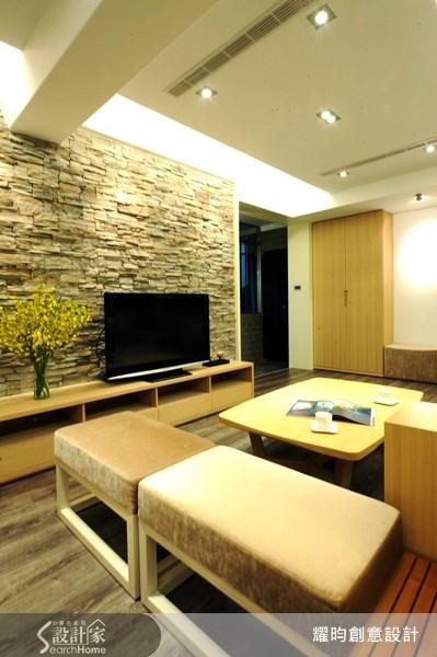 38坪老屋(16~30年)_休閒風客廳案例圖片_耀昀創意設計_耀昀_06之1