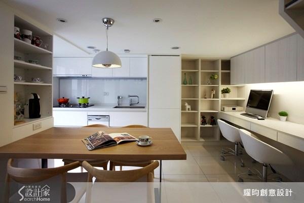 20坪新成屋(5年以下)_北歐風餐廳案例圖片_耀昀創意設計_耀昀_07之5