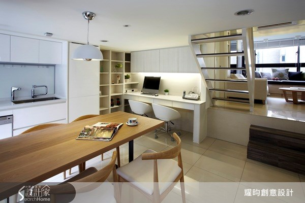 20坪新成屋(5年以下)_北歐風餐廳案例圖片_耀昀創意設計_耀昀_07之7