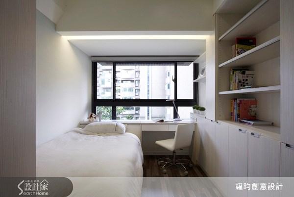 20坪新成屋(5年以下)_北歐風臥室案例圖片_耀昀創意設計_耀昀_07之15