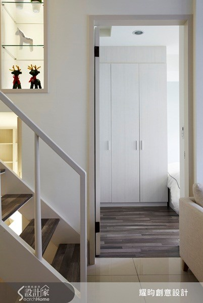 20坪新成屋(5年以下)_北歐風走廊案例圖片_耀昀創意設計_耀昀_07之12