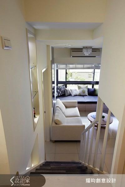 20坪新成屋(5年以下)_北歐風樓梯案例圖片_耀昀創意設計_耀昀_07之13
