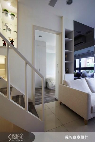 20坪新成屋(5年以下)_北歐風客廳案例圖片_耀昀創意設計_耀昀_07之11
