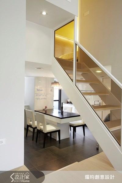 20坪新成屋(5年以下)_美式風餐廳廚房樓梯案例圖片_耀昀創意設計_耀昀_08之11