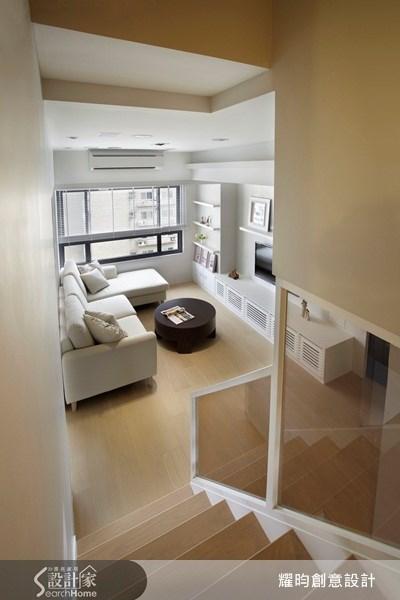 20坪新成屋(5年以下)_美式風客廳走廊案例圖片_耀昀創意設計_耀昀_08之16
