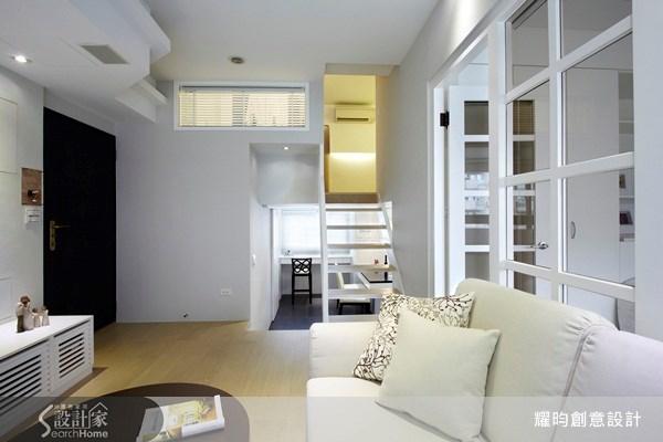 20坪新成屋(5年以下)_美式風玄關客廳樓梯案例圖片_耀昀創意設計_耀昀_08之7