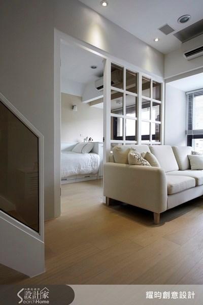 20坪新成屋(5年以下)_美式風客廳臥室案例圖片_耀昀創意設計_耀昀_08之6