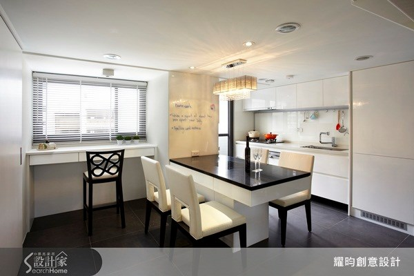 20坪新成屋(5年以下)_美式風餐廳廚房案例圖片_耀昀創意設計_耀昀_08之14