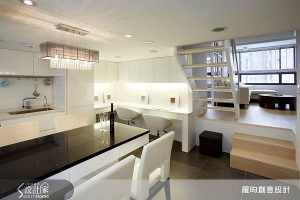 20坪新成屋(5年以下)_美式風餐廳廚房書房案例圖片_耀昀創意設計_耀昀_08之13