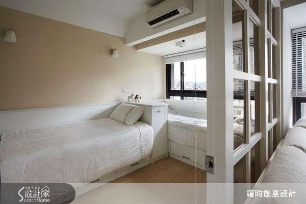 20坪新成屋(5年以下)_美式風臥室案例圖片_耀昀創意設計_耀昀_08之10