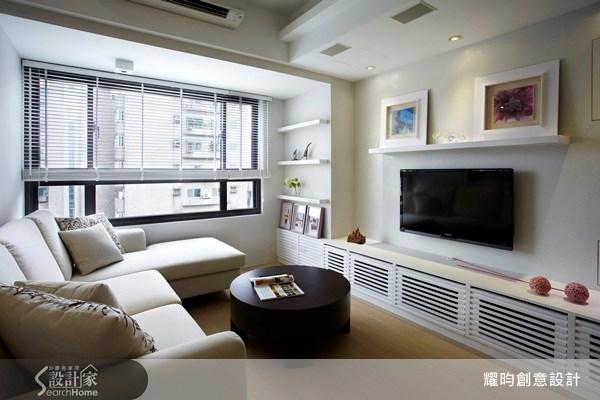 20坪新成屋(5年以下)_美式風客廳案例圖片_耀昀創意設計_耀昀_08之1