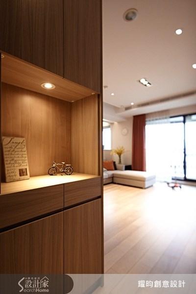 42坪新成屋(5年以下)_北歐風玄關案例圖片_耀昀創意設計_耀昀_10之1
