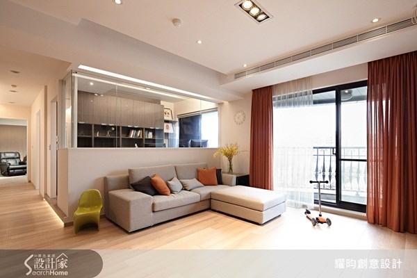 42坪新成屋(5年以下)_北歐風客廳案例圖片_耀昀創意設計_耀昀_10之3