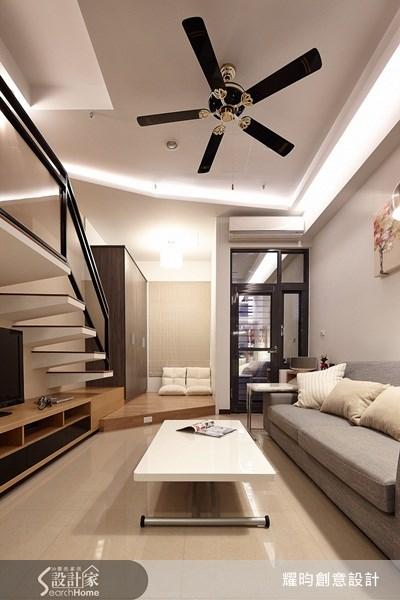 16坪新成屋(5年以下)_簡約風客廳案例圖片_耀昀創意設計_耀昀_12之11