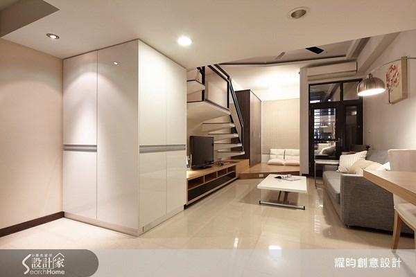 16坪新成屋(5年以下)_簡約風客廳案例圖片_耀昀創意設計_耀昀_12之2