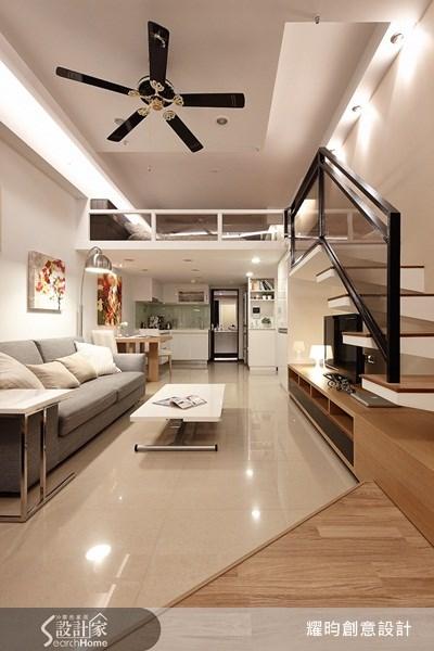 16坪新成屋(5年以下)_簡約風客廳案例圖片_耀昀創意設計_耀昀_12之16