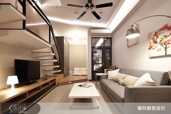 16坪新成屋(5年以下)_簡約風客廳案例圖片_耀昀創意設計_耀昀_12之10