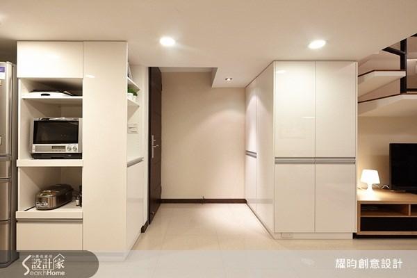 16坪新成屋(5年以下)_簡約風玄關案例圖片_耀昀創意設計_耀昀_12之1