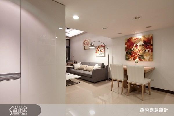 16坪新成屋(5年以下)_簡約風客廳案例圖片_耀昀創意設計_耀昀_12之3