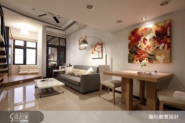16坪新成屋(5年以下)_簡約風客廳案例圖片_耀昀創意設計_耀昀_12之4