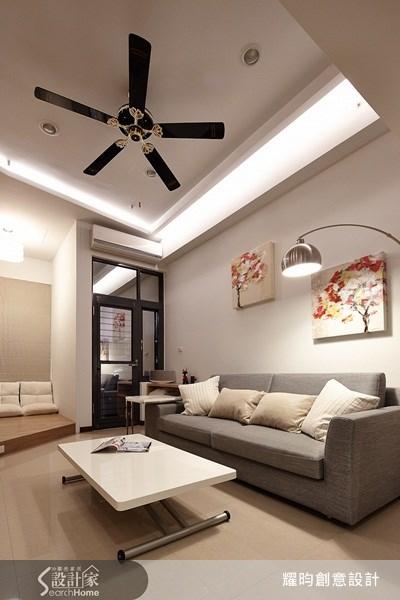 16坪新成屋(5年以下)_簡約風客廳案例圖片_耀昀創意設計_耀昀_12之12