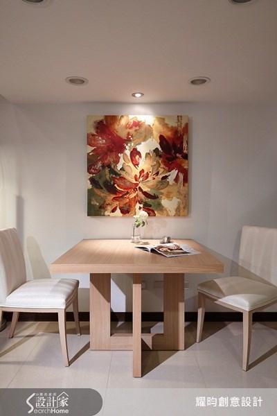 16坪新成屋(5年以下)_簡約風餐廳案例圖片_耀昀創意設計_耀昀_12之5
