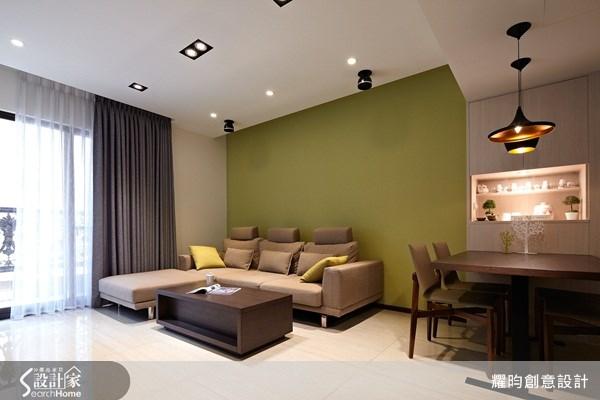 25坪新成屋(5年以下)_簡約風客廳餐廳案例圖片_耀昀創意設計_耀昀_14之2