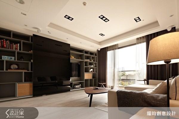 46坪新成屋(5年以下)_休閒風客廳案例圖片_耀昀創意設計_耀昀_15之2