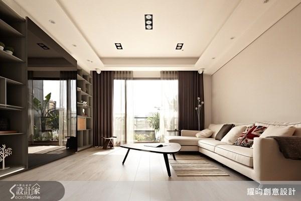 46坪新成屋(5年以下)_休閒風客廳案例圖片_耀昀創意設計_耀昀_15之1