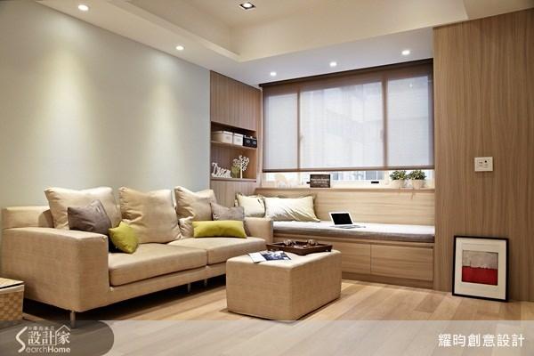 30坪老屋(16~30年)_北歐風客廳案例圖片_耀昀創意設計_耀昀_16之5